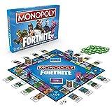 Hasbro Monopoly E6603100 Monopoly Fortnite Edition, Familienspiel, Multicolor