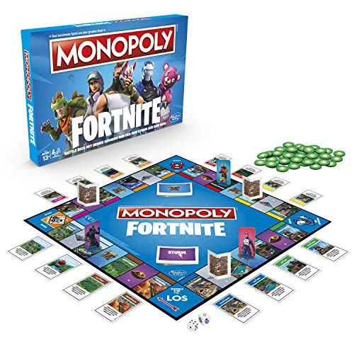 3100 Monopoly Fortnite Edition, Familienspiel, Multicolor ()