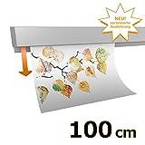 hang-it Klemmschiene Aluminium - 100 cm - Wandmontage