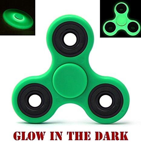 Fidget Radium Spinner Anti-Anxiety / Glow in Dark Fidget Hand Spinner (Green)
