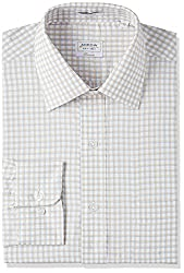 Arrow Mens Formal Shirt (8907538777577_AFUSH0057_40_Beige)