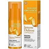 2 Pack - Avalon Organics Intense Defense with Vitamin C Facial Serum 1 oz