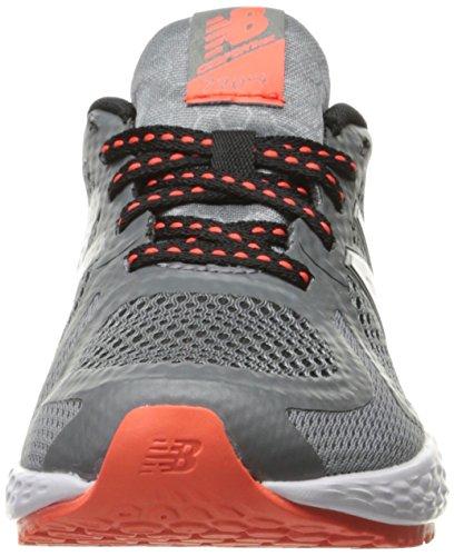 New Balance 720v4, Baskets Basses Mixte Enfant Multicolore (Grey/orange)