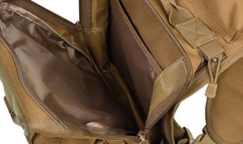 TUOZA Borsa A Tracolla Comoda Corsa Escursione Esterna Degli Uomini,Brown-OneSize Grey