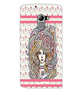 PrintDhaba Artwork D-3804 Back Case Cover for LENOVO VIBE X3 LITE (Multi-Coloured)