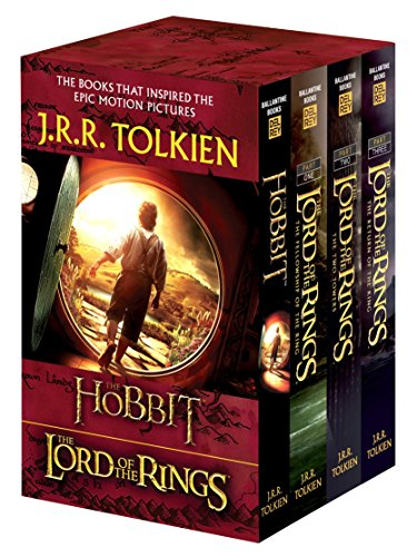 J.R.R. Tolkien 4-Book Boxed Set: The Hobbit and the Lord of the Rings (Movie Tie-In): The Hobbit, the Fellowship of the Ring, the Two Towers, the Retu