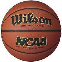Wilson Basketball, Alle Oberflächen, Für Spieler ab 12 Jahren, NCAA Replica Street Game, Gummi, Braun, WTB0730