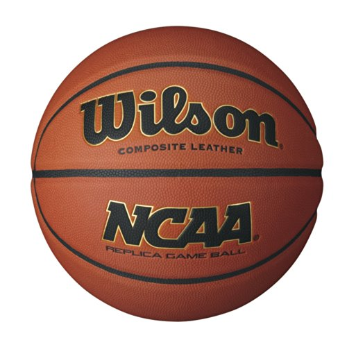 Wilson Basketball NCAA Replica Game, braun, 7