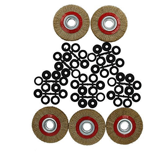 5 x 150 mm Draht Räder Bürste Rost Farbentferner für 6
