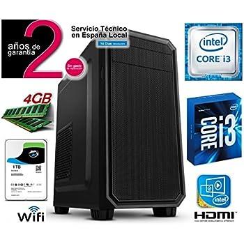 Megamania Torre Ordenador SOBREMESA Intel Core i3 3.06Ghz | 4GB ...