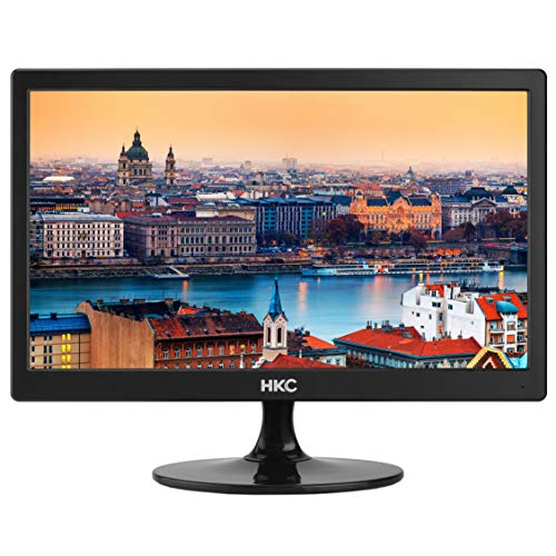 HKC MR17: 44 cm (17 pollici) schermo piatto compatto a LED per PC Desktop (HD-Ready, HDMI & VGA), nero