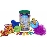 Fidget Fiddle and Think Jar for fidgets, brainstorming, ADHD or Autism