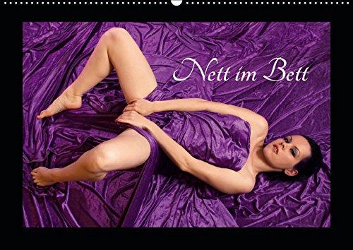 Nett im Bett (Wandkalender 2019 DIN A2 quer): Der erotische Kalender für jedes Schlafzimmer (Monatskalender, 14 Seiten ) (CALVENDO Menschen)