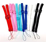 12 x Hand Wrist Strap Wristband for Sony PSP 1000 2000 3000 Go PS Vita PS3 Move Cameras, Nintendo DS DS Lite DSi DSi XL 2DS 3DS 3DS XL Wii Remote Wii U, MP3 Music Players