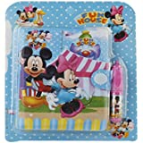 Parteet Cartoon Printed Diary with Small Pen for Kids