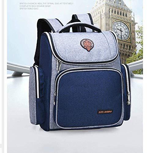 ZLL Student Rucksack, Neuheit Tasche-Kinder Rucksack Schulrucksack für Jungen Große Kapazität Orthopädische Schulranzen Kinder Schultaschen Mädchen Schultasche s,ein -