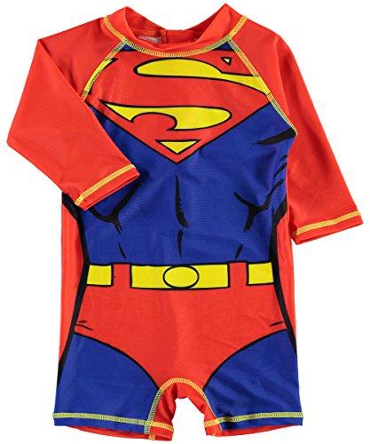 NAME IT Jungen Badeanzug UV Schutz Anzug Superheld (104, ()