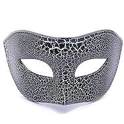 Yanhoo Maskerade Maske für venezianische männer kostüm Maske/Party/Ball Prom/Halloween/Karneval/Hochzeit
