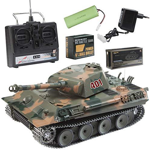 "Panzer \""HL Panther\"" M 1:16/R&S Metallgetriebe / Metallketten"