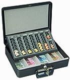 Rottner 4558 London - Caja de seguridad para guardar dinero con bandeja para monedas y billetes
