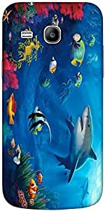Snoogg Underwater Life 2727 Designer Protective Back Case Cover For Samsung G...