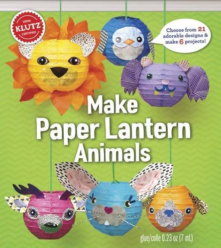 Paper Lantern Animals (Klutz) por Editors of Klutz