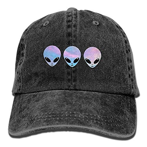 Alien-tee (Paint0 Psychedelic Tee Holo Aliens Vintage Jeans Baseball Cap for Men and Women)