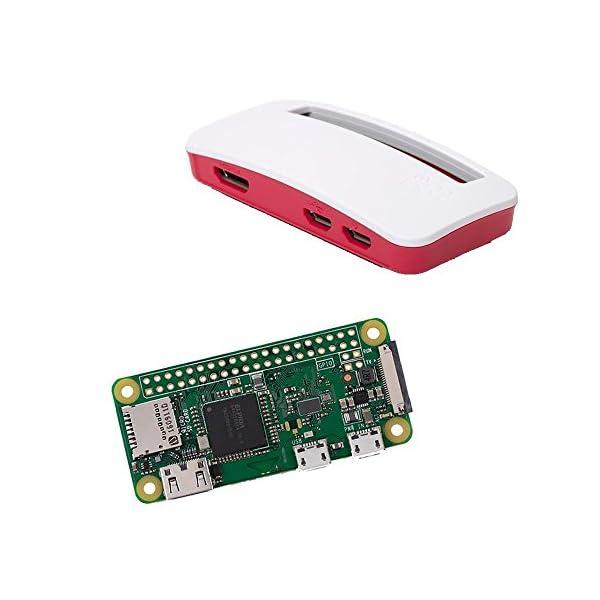 51XnnCvkB1L. SS600  - Raspberry Pi Zero W (inalámbrica) y carcasa oficial