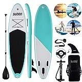 Triclicks Tabla Hinchable Paddle Surf/Sup Paddel Surf con Bomba, Mochila, Aleta...