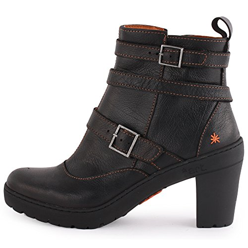Art Travel 390 Femmes Ankle Boots Black