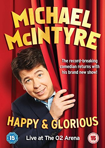 Michael McIntyre - Happy & Glorious [DVD] [2015] (Michael Mcintyre Dvd)