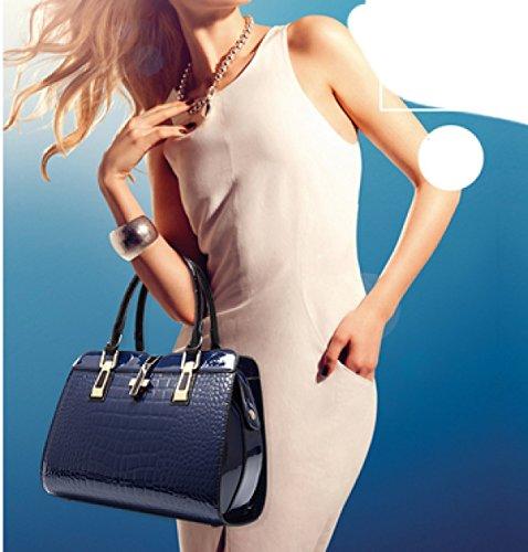 LAIDAYE Ms. Schulter Messenger Handtasche 6