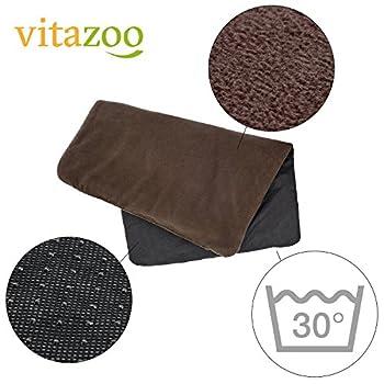 VITAZOO Tapis pour chien thermique isolant, résistant et lavable | avec 2 ans de garantie satisfaction | coussin chien, couverture chien