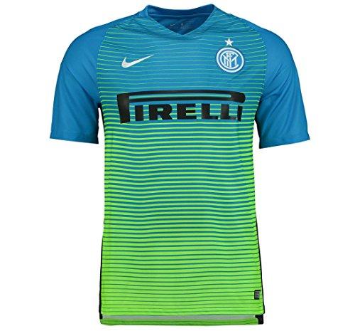 Nike Inter YTH SS 3Rd Stadium JSY - Camiseta Línea Internazionale Milan para niño, Color Azul, Talla S