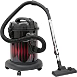 #3: Mr.plus 20 litres dust capacity 1600 watts wet & dry Vacuum cleaner with 360 degree swivel wheels