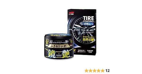 Soft99 Fusso Mirror Shine Dark Wax Tire Coating Pure Shine Auto