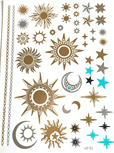 47-tatouages-ephemeres-metallique-waterproof-tatoo-temporaire-or-bijou-de-peau-soleil-et-lune