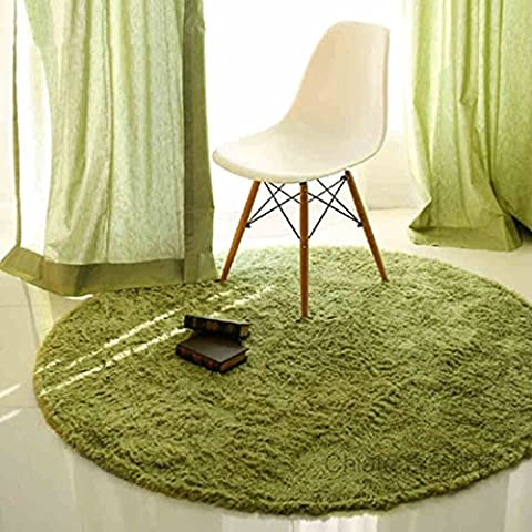 SANNIX Round Shaggy Area Rugs and Carpet Super Soft Bedroom Carpet Rug for Kids