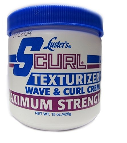 Lusters Luster SCURL Texturizer Wave & Curl Creme MAXIMUM STRENGTH 425g - S-curl Relaxer
