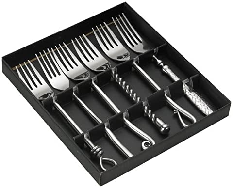 Jean Dubost Créations 96012 Mixes Forges Coffret 6 Fourchettes de Table