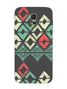 Samsung S5 Mini Cover - Batic Ethnic Pattern - Designer Printed Hard Shell Case