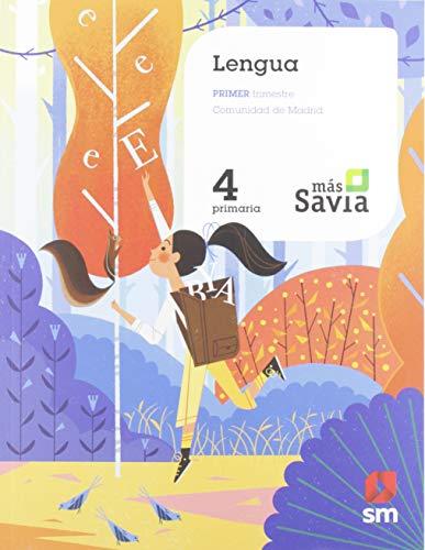 Lengua 4 Primaria Mas Savia Madrid