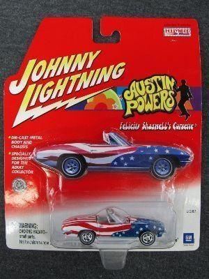 Johnny Lightning Austin Powers Felicity Shagwell's Corvette by Johnny Lightning (Und Shagwell Felicity Powers Austin)