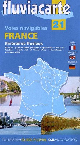Itinéraires fluviaux et voies navigables France