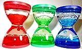Liquid Timer in Drei Farben Sensory Wasserspiel