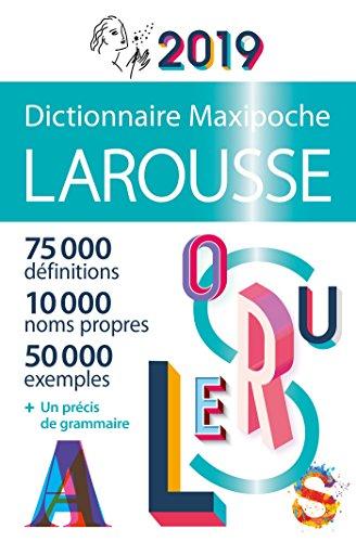 Dictionnaire Larousse Maxipoche 2019