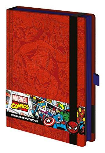 Marvel Comics Premium Notebook A5 Retro Spider-Man Pyramid International Cancelleria