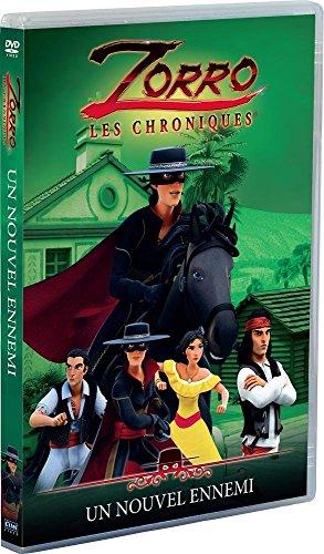 Zorro, les chroniques – Vol. 3 : Un nouvel ennemi [Francia] [DVD] 51Xo 2Bup4s9L