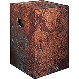 murando Papphocker Motiv Platte 45x30x30 cm faltbar Papier Hocker ergonomischer Karton Photohocker Falthocker f-C-0293-ap-a