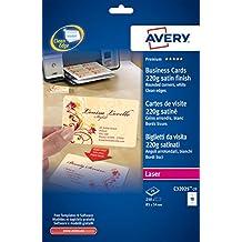 Suchergebnis Auf Amazon De Für Avery Visitenkarten